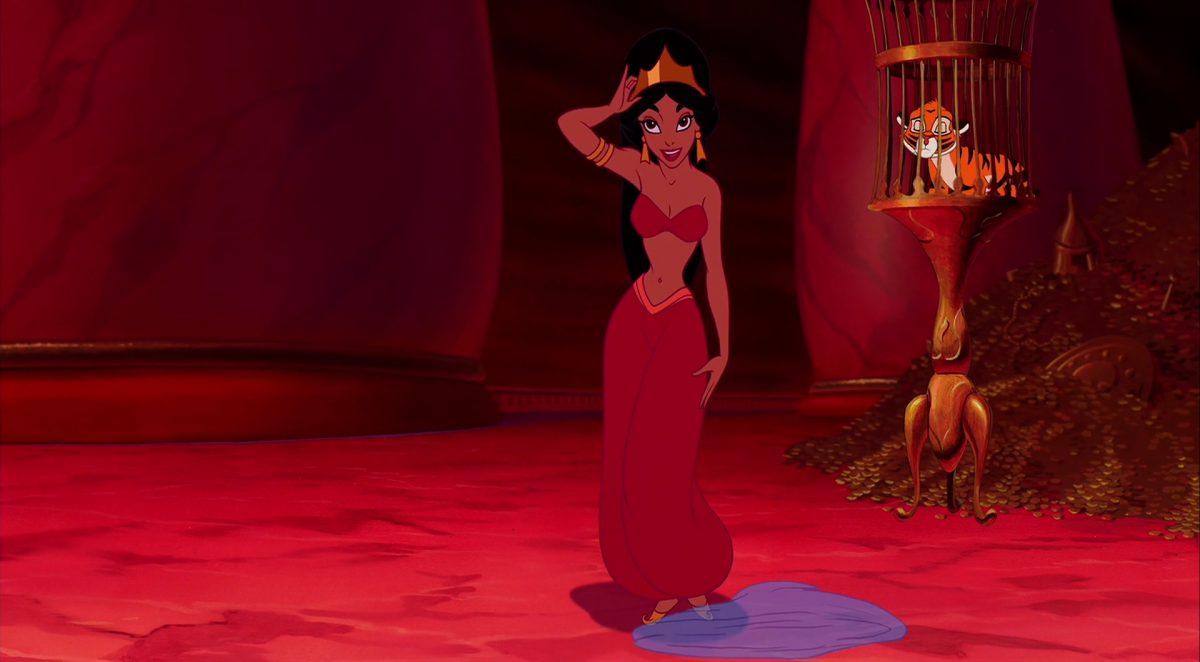 jasmine princesse personnage character aladdin disney animation