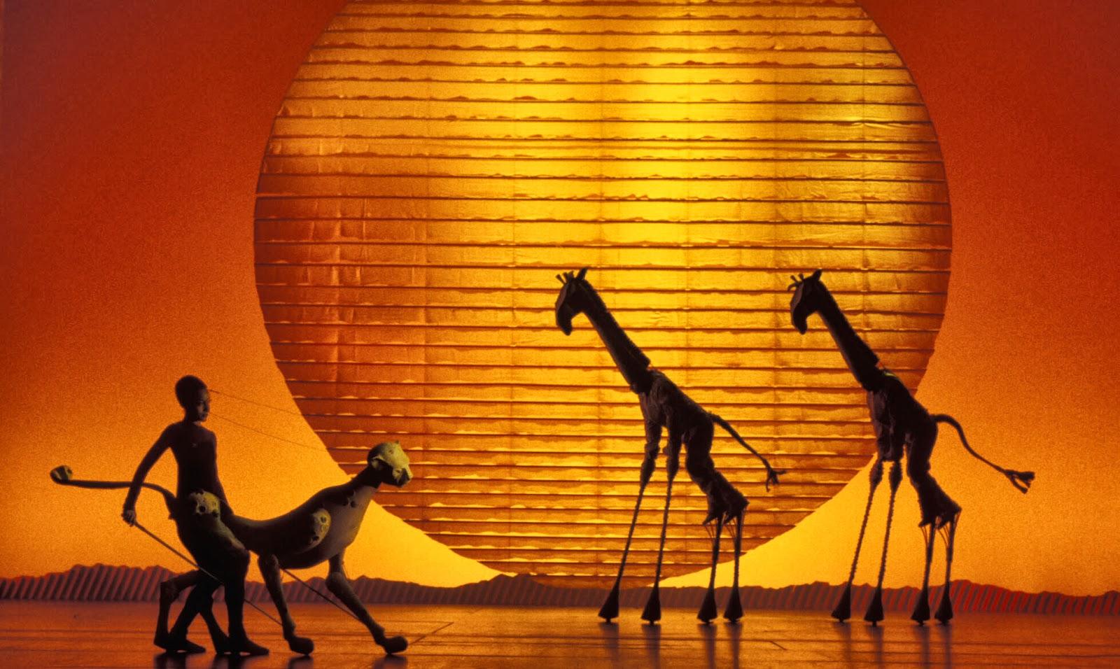 Disney Broadway le roi lion comédie musicale