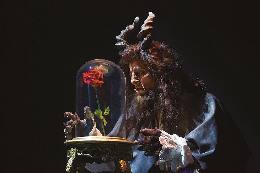 Disney comédie musicale broadway la belle et la bête