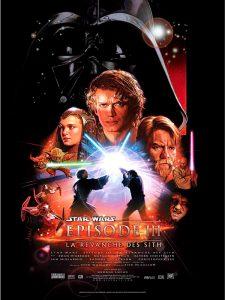 disney affiche poster star wars épisode 3 la revanche des sith