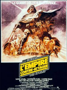 disney affiche poster star wars épisode 5 l'empire contre-attaque