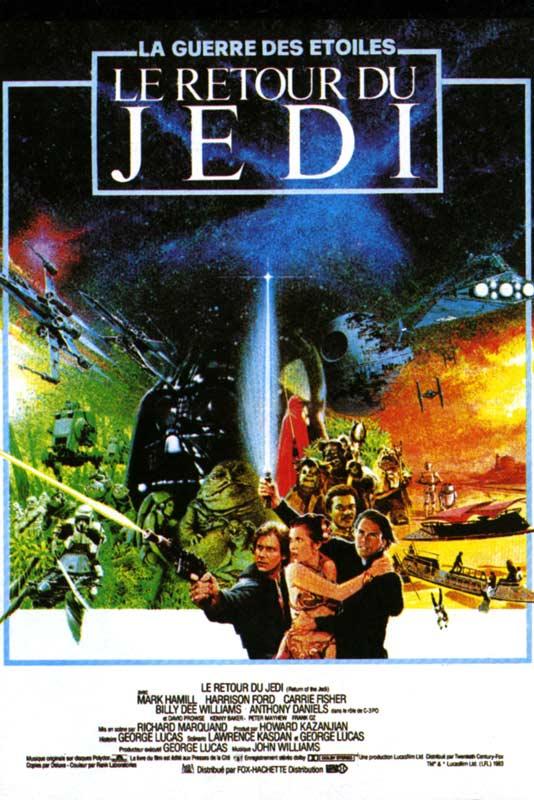 disney affiche poster star wars épisode 6 le retour du jedi