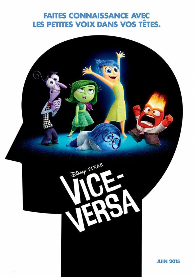 pixar disney inside out vice-versa affiche poster