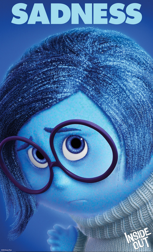 Pixar Disney Vice Versa Inside Out poster affiche