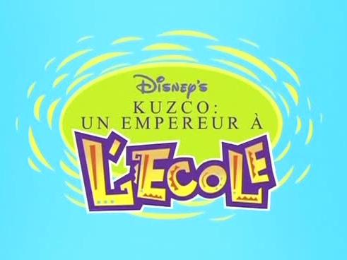 Disney Kuzco, un empereur à l'école affiche
