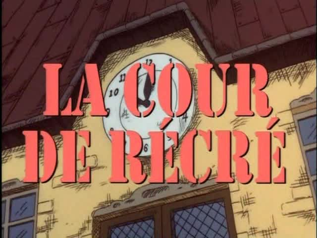 Disney la cour de récré illustration