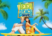 Disney Teen Beach Movie Illustration