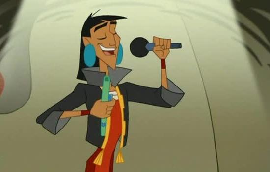 Disney Kuzco, un empereur à l'école illustration