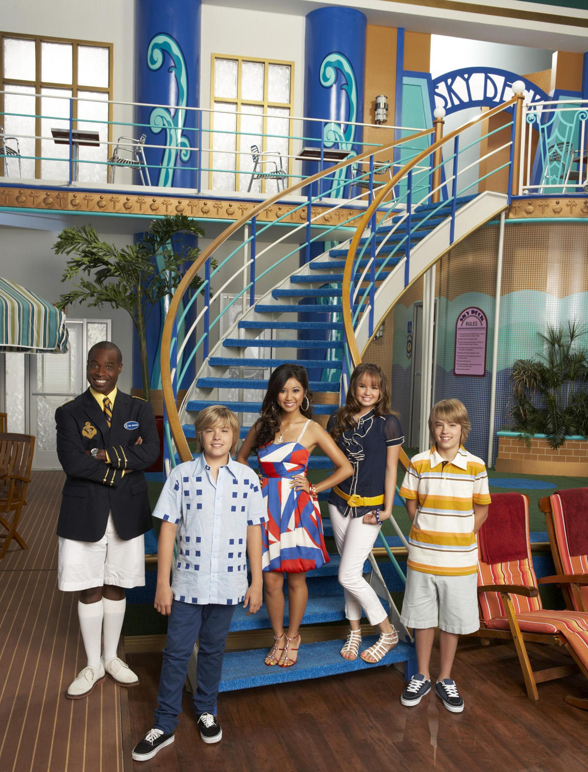 Disney - La Vie de Palace de Zack et Cody - Illustration