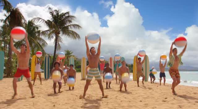 Disney Teen Beach Movie Illustration