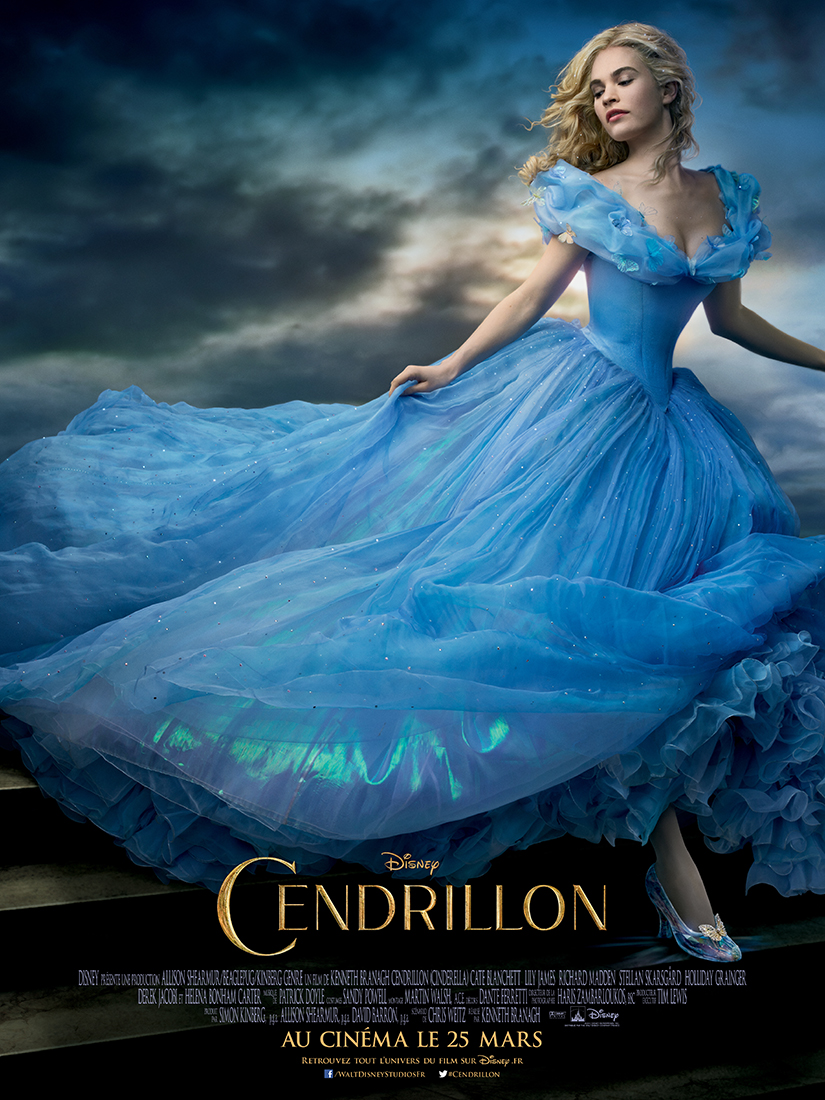 Disney Cendrillon Film Illustration