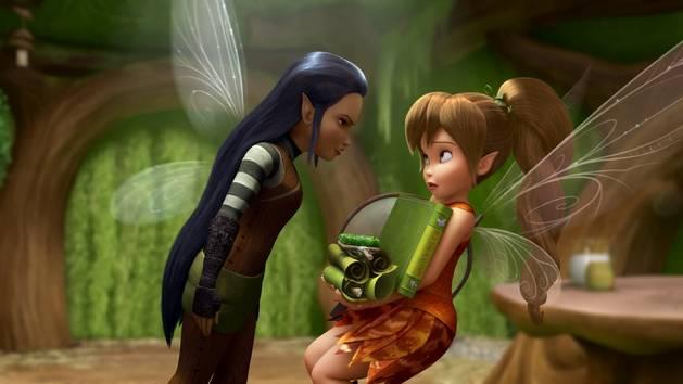 Disney Clochete et la créature légendaire illustration