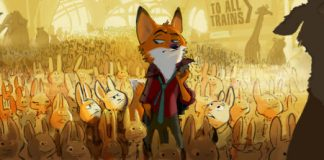 Disney Zootopia Illustration