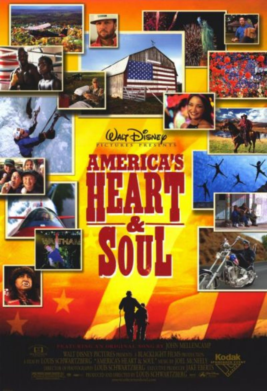 affiche poster america heart soul disney