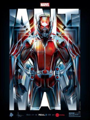 Affiche Poster Ant-Man Disney Marvel