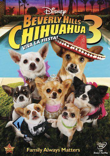 Affiche Poster chihuahua beverly hills 3 viva fiesta disney
