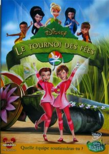 affiche clochette tournoi fees pixie hollow games disneytoon studios poster