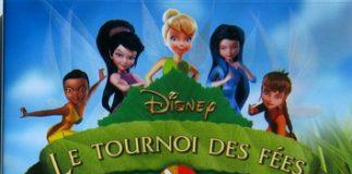 affiche clochette tournoi fees pixie hollow games disneytoon studios poster