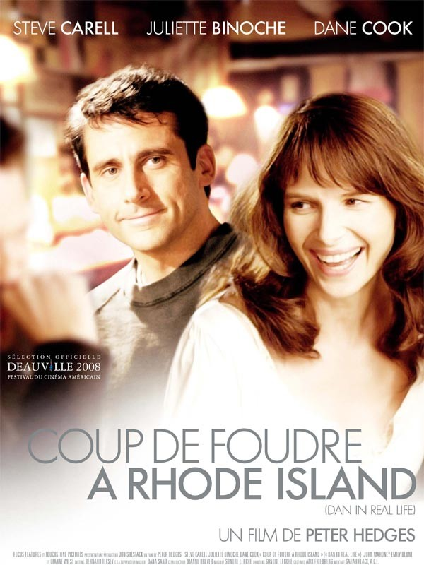 affiche coup foudre rhode island poster dan real life touchstone pictures
