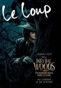 affiche into the woods personnage autre prince promenons nous dans bois character disney pictures loup