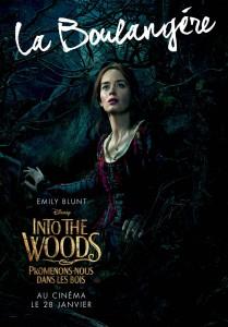 affiche into the woods personnage autre prince promenons nous dans bois character disney pictures la boulangère