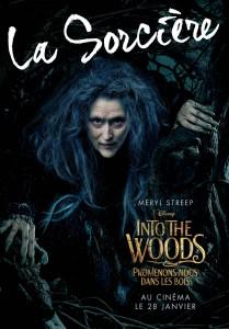 affiche into the woods personnage autre prince promenons nous dans bois character disney pictures sorcière witch