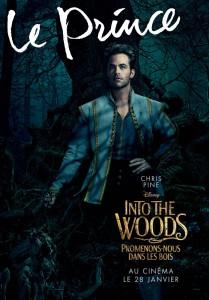 affiche into the woods personnage autre prince promenons nous dans bois character disney pictures prince