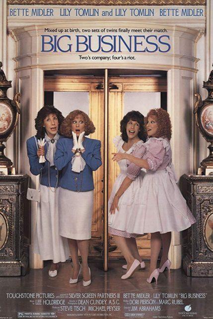 Affiche Poster jumelles emmelent big business disney touchstone