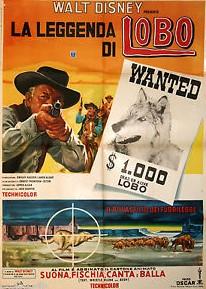 Affiche Poster légende legend lobo disney