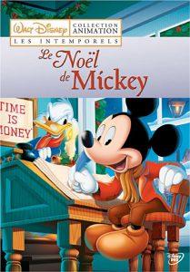 affiche noel mickey poster chistmas carol walt disney animation studios