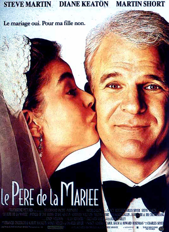 Affiche Poster père mariée father bride disney touchstone