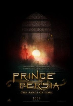 Affiche prince persia sable temps sand time disney