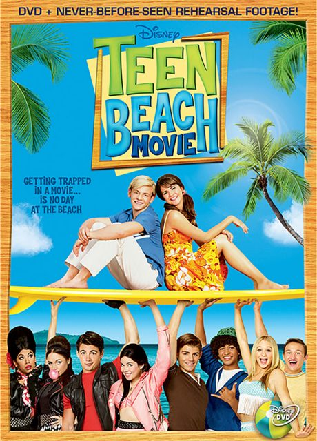 affiche poster teen beach movie disney channel
