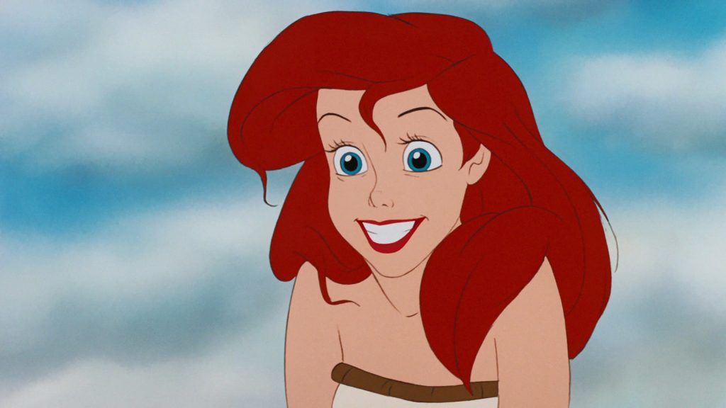 ariel disney personnage character animation la petite sirène the little mermaid