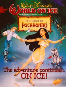 disney on ice legende pocahontas forever love