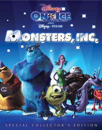Disney On Ice Disney Pixar S Monsters Inc Disney Planet