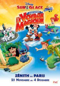 Disney sur glace voyage magique mickey minnie