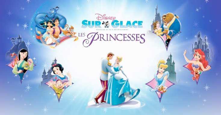 disney sur glace les princesses classic on ice