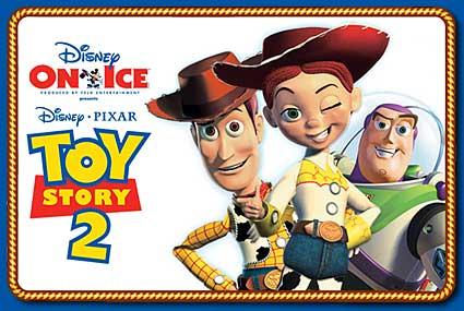 Disney on ice Pixar's Toy Story 2