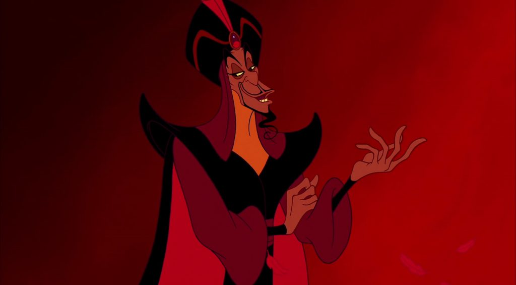 jafar vizir personnage character aladdin disney animation