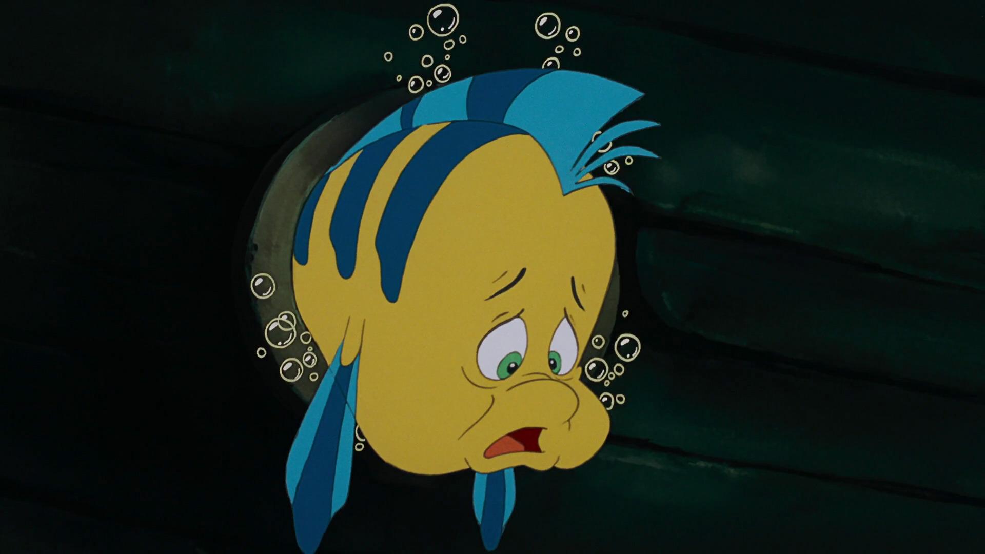 Polochon Personnage Dans La Petite Sirène Disney Planet