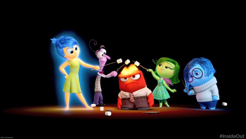 Disney Pixar Vice Versa Inside Out
