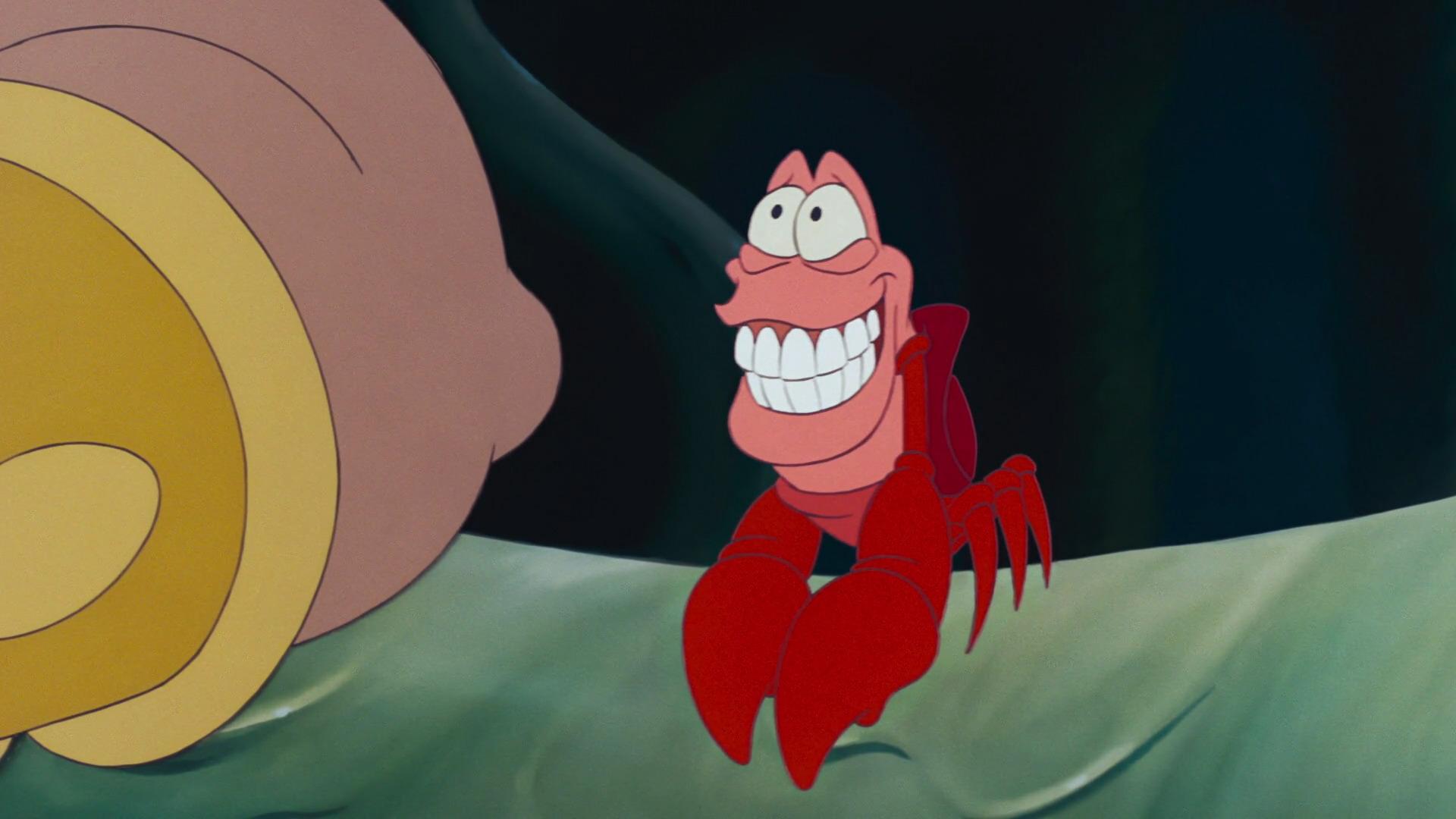 Sébastien Personnage Dans La Petite Sirène Disney Planet