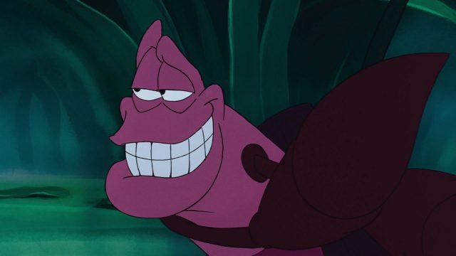 sébastien sebastian disney personnage character animation la petite sirène the little mermaid