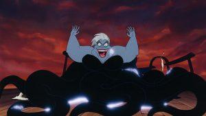 ursula vanessa disney personnage character animation la petite sirène the little mermaid