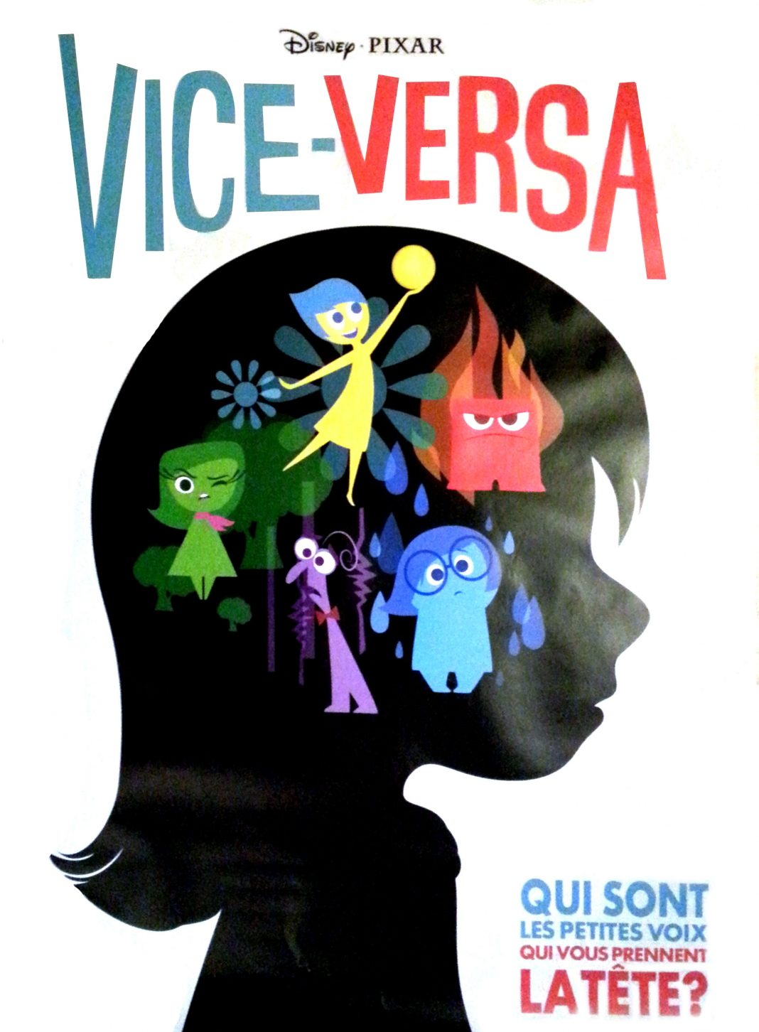Pixar Disney Affiche Vice Versa