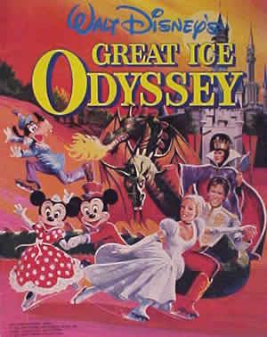 walt disney great ice odyssey