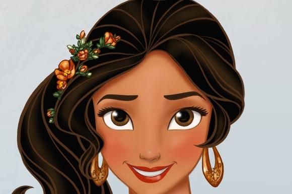 Disney Elena D'Avalor Illustration Article