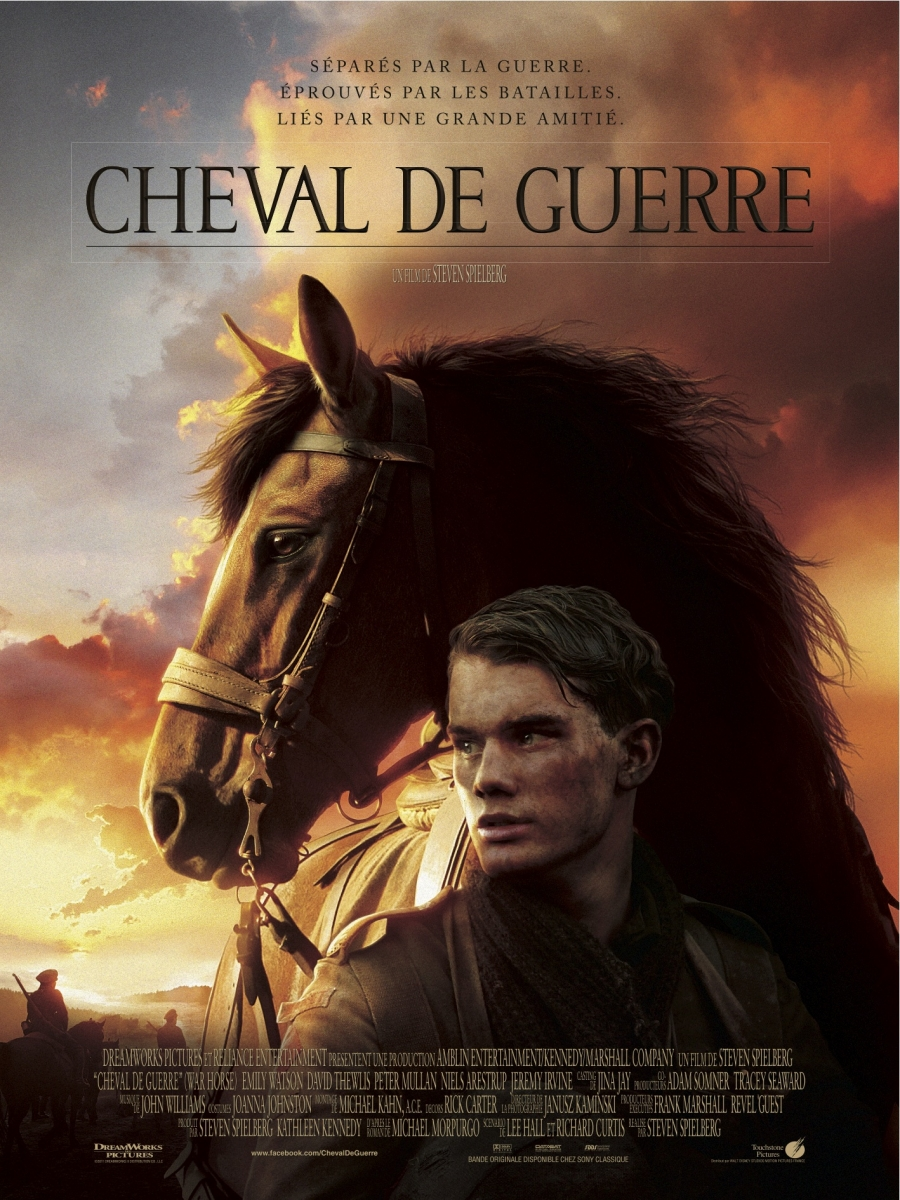 affiche cheval guerre touchstone pictures walt disney company poster war horse