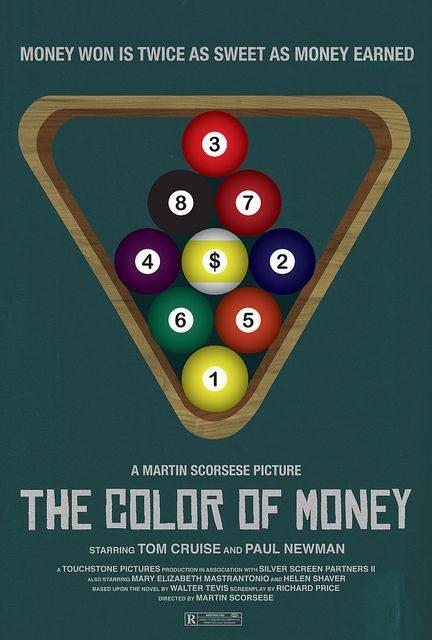 Affiche Poster argent couleur color money disney touchstone